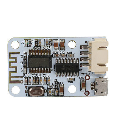 5V Micro USB 2x3W Bluetooth Audio Receiver Digital Amplifier Amp Board