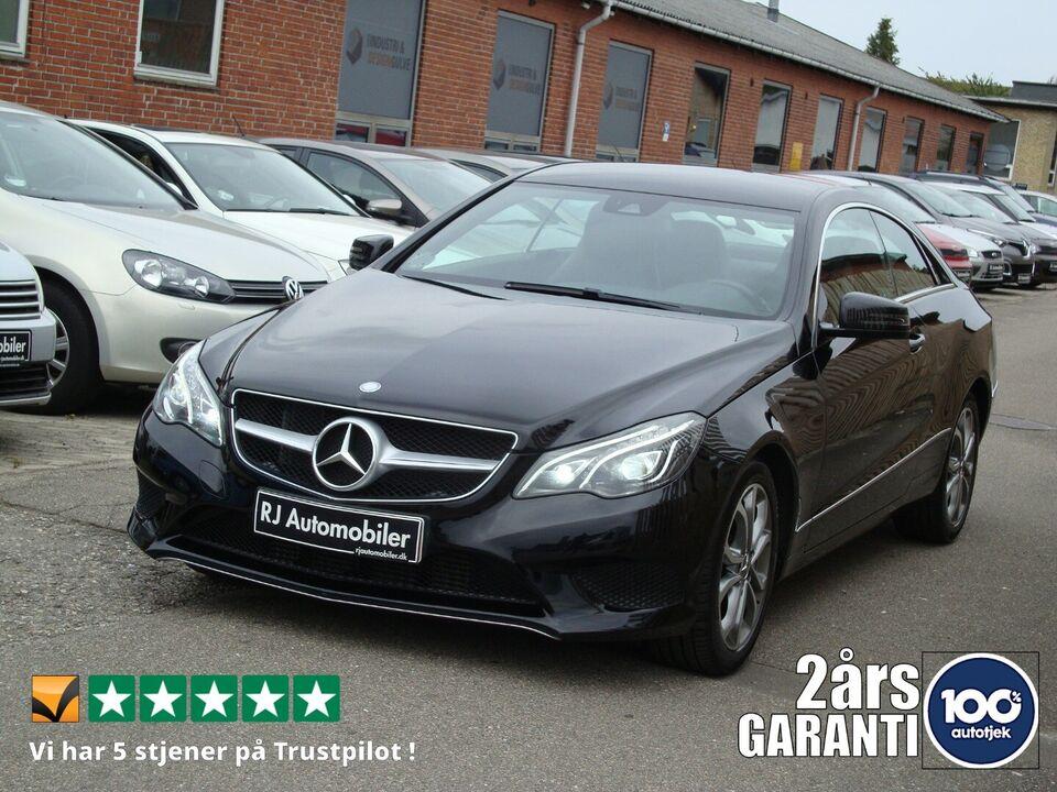 Mercedes E220 2,2 CDi Coupé aut. Diesel aut. Automatgear