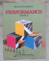 Level 3 Bastien Piano Basics Performance Wp213 Kjos