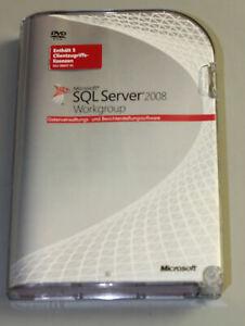 Microsoft SQL Server 2008 Workgroup - Deutsch - SKU# A5K-02340 - inkl. MwSt