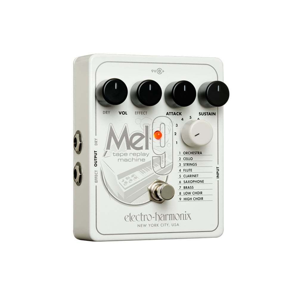 Electro Harmonix MEL9 Tape Replay Replay Replay Machine (Mellotron) Effects Pedal for Guitar be55a1