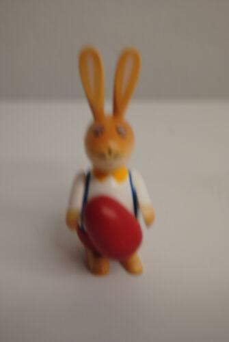 Osterhasen Kugel Hasen aus Holz 9 cm Oster Deko Knick Ohr Hasen bemalt  Motive N