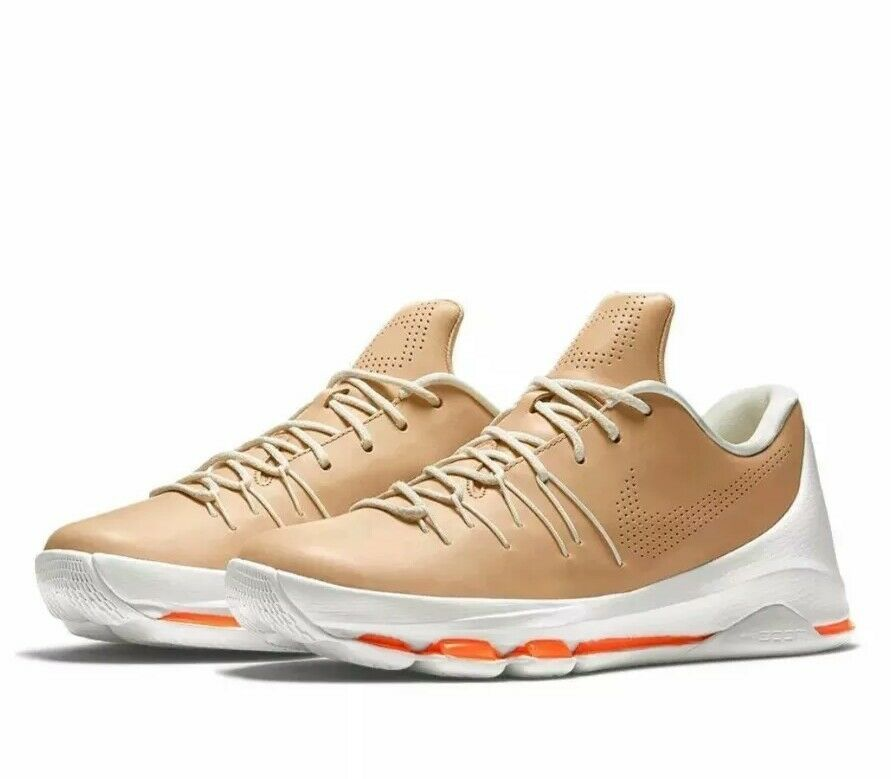 New NIKE Kevin Durant  KD 8 Ext Tan Vanchetta  Size 10