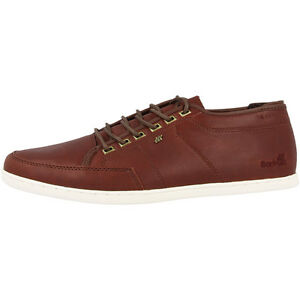 Boxfresh Sparko ICN Leather Sneaker Leder Schuhe Men Herren Russet E14774