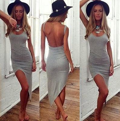 Fashion Sexy Womens Bandage Bodycon Asymmetric Evening Party Cocktail Mini Dress