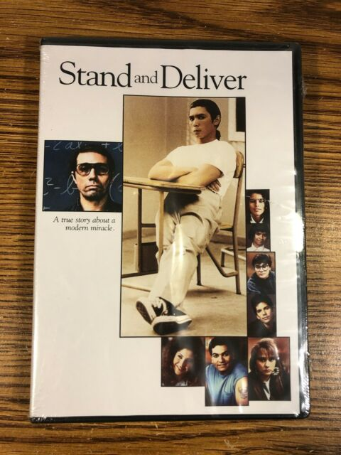 Stand and Deliver DVD BRAND NEW 1988 Movie DRAMA FILM ...