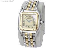 "Cartier ""Panthere"" Stahl Gold Box und Rechnung"