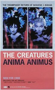 Siouxsie-amp-The-Banshees-1999-Creatures-Original-Promo-Poster