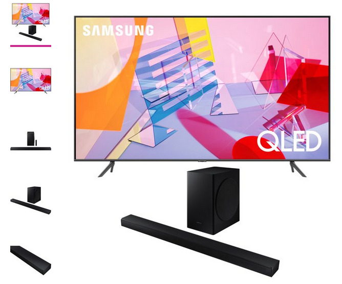Samsung QN75Q60TA 75 Ultra High Definition 4K Quantum HDR Smart QLED TV With a . Available Now for 750.00