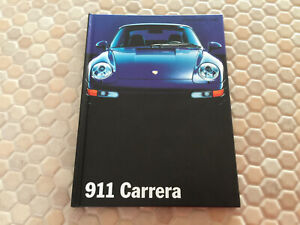 PORSCHE-911-993-CARRERA-HARDBACK-PRESTIGE-BROCHURE-SECOND-USA-EDITION-1995