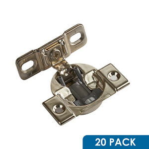"20 Blum Compact 1-3/8""+ Overlay Face Frame Hinge Screw In Soft Close 38b355bf22 Et Aide à La Digestion"