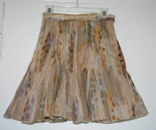 """Very Rare Anthropologie  """"Feather Voile Skirt""""  0"""