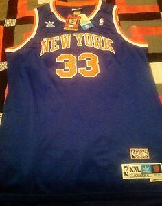 8abf7ee04 Adidas New York Knicks Patrick Ewing Hardwood Classics Jersey - Size ...