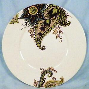Image Is Loading Tabletops Gallery Misto Angela Salad Plate Brown Green