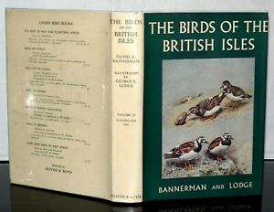 The-Birds-Of-The-British-Isles-David-Armitage-Bannerman-Vol-9-HB-DJ-1961