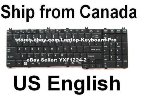 Keyboard for Toshiba Satellite C660 C660D C665 C665D US English