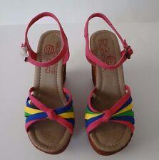 Big Buddha Women's Multi Wedge Platform Mojo Sandals Shoes Size 7.5