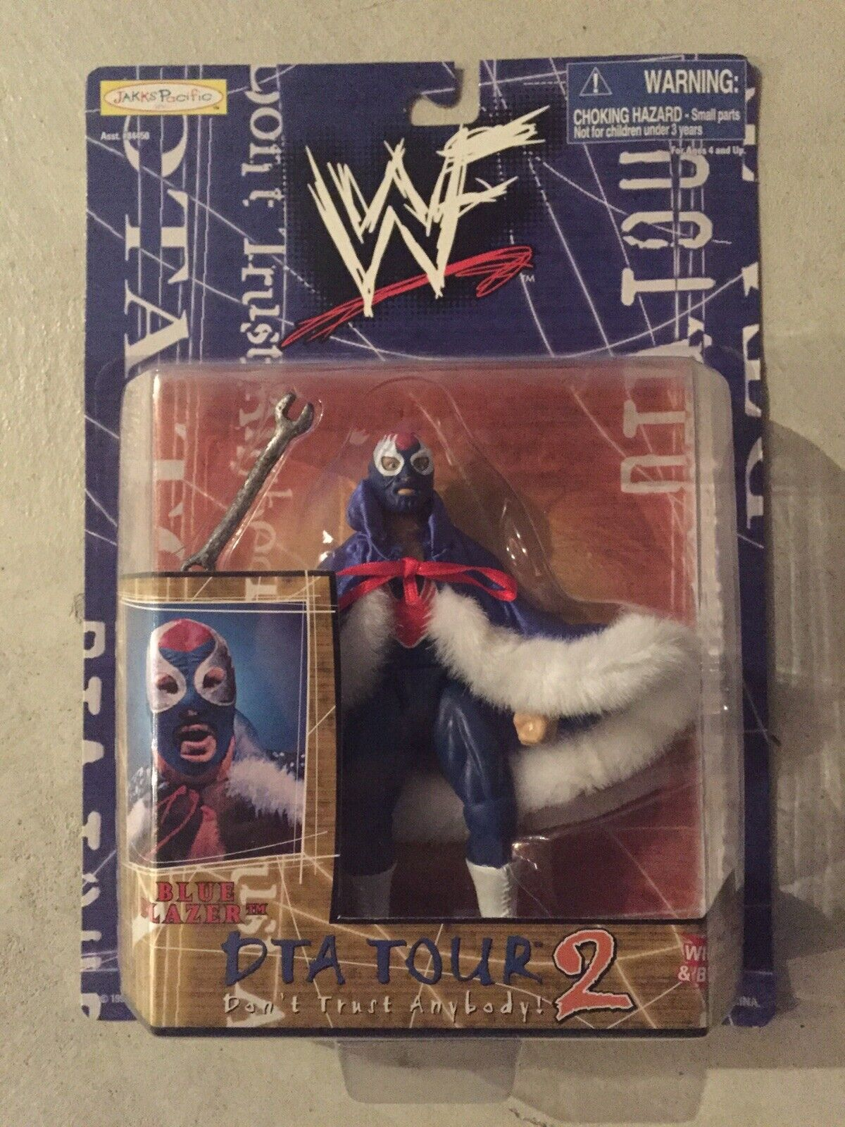WWE blu Blazer Wrestling azione cifra