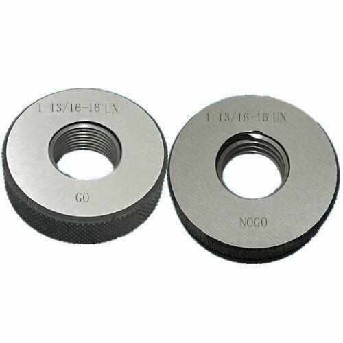 1 13//16-12 UN Thread Ring Gage 2A GO NOGO 100/% Calibrated ship by Fedex