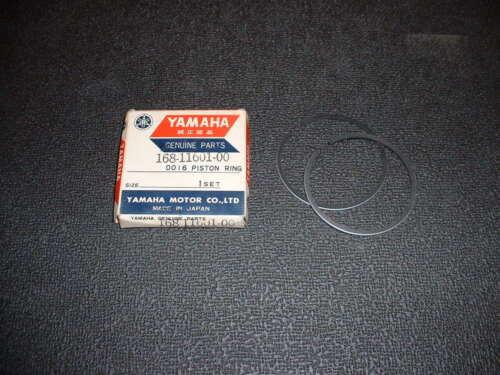 YR2 Standard Size NOS Yamaha YR1 168-11601-00 Piston Rings