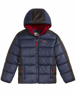 a203f4ed3 Hawke   Co. Outfitter Branson Hooded Puffer Jacket Big Boys (8-20 ...