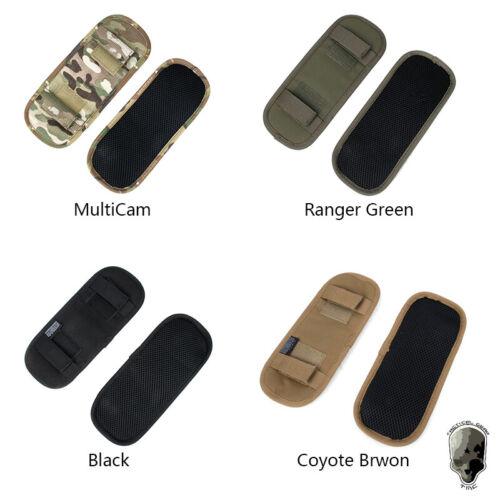 TMC Plate Carrier Shoulder Pads Set Cushion for Tactical Vest Chest Rig Military