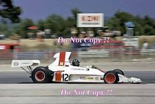 Graham Hill Embassy Racing Shadow DN1 French Grand Prix 1973 Photograph