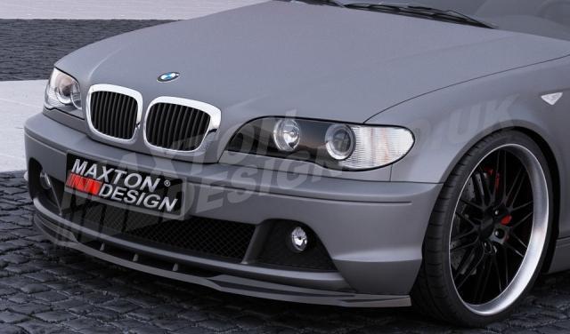 FRONT SPLITTER BMW 3 E46 COUPE FACELIFT (2002-2007)