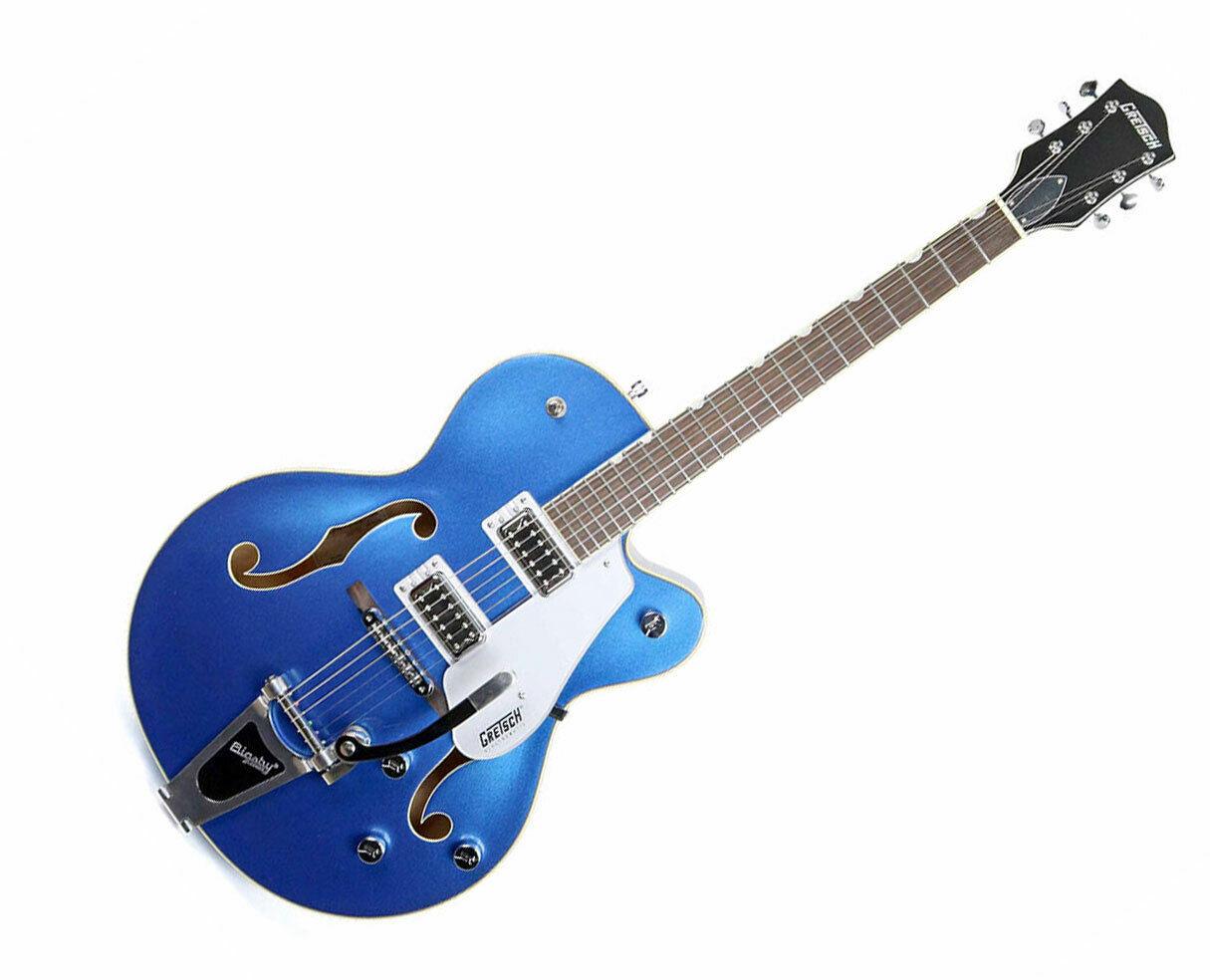 Gretsch G5420T Elektromatischer Hollowbody mit Bigsby Fairlane Blau