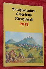 Buchkalender, Oberland, Niederland, 2013, Schluckenau, Rumburg, Warnsdorf, Dauba