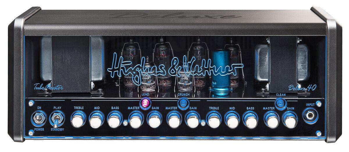 Hughes & & & Kettner Tube maestro Deluxe 40 Head-e-guitarras topteil incl. bolsa 47ae97