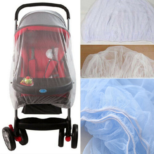 Universal Pram Stroller Mosquito Fly Insect Sun Dust Protect Cover Net Mesh