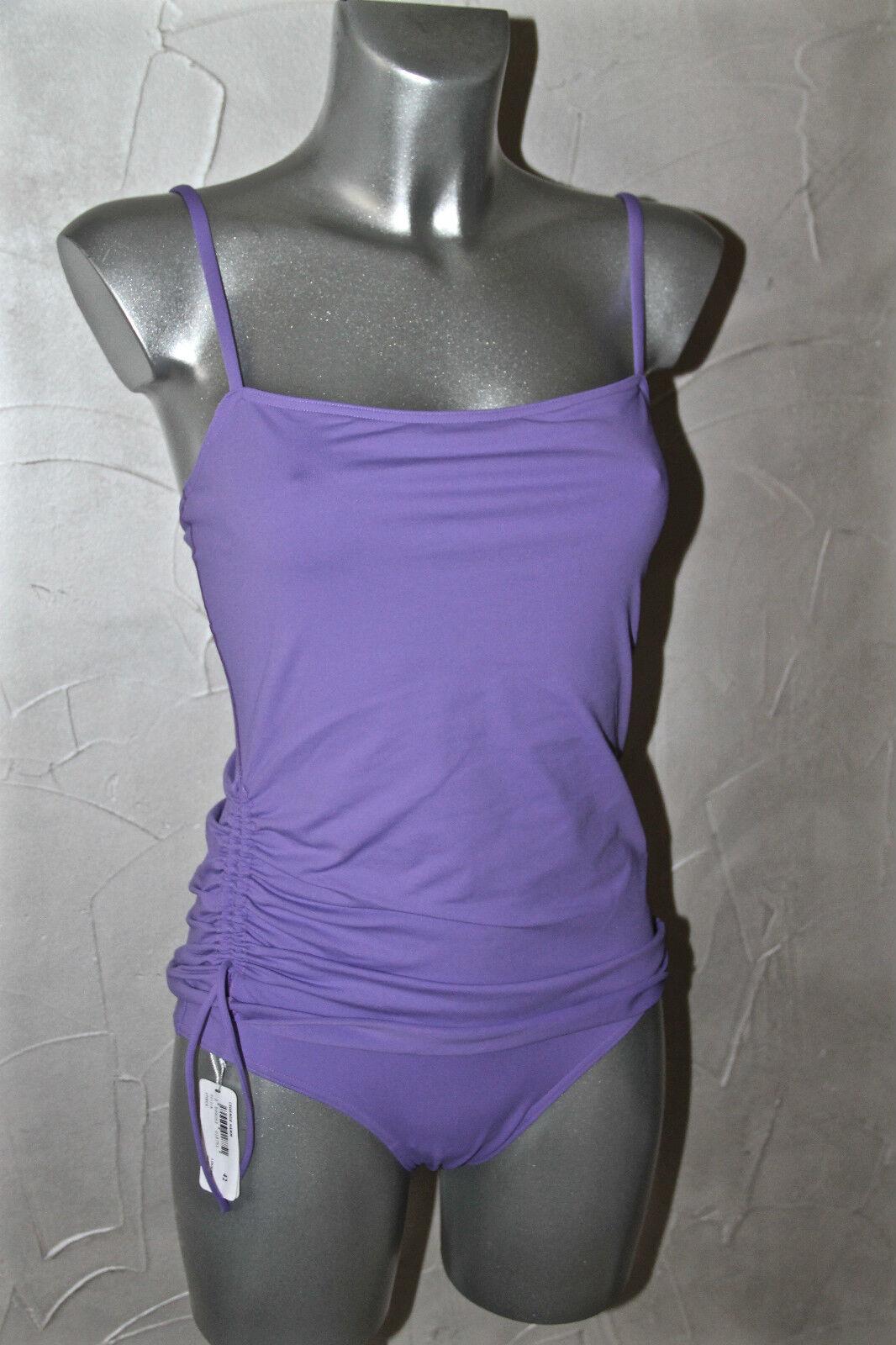 Swimsuit superimposed loukoum ERES legend hamm T 42 (US 10) NEW val