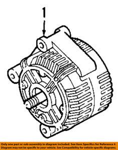 bmw oem 07 11 335i alternator 12317558220 ebay 2007 BMW 328I Belt Diagram image is loading bmw oem 07 11 335i alternator 12317558220