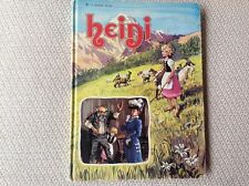 Heidi (1975) Jane Carruth / John Worsley ~ Golden Book Hardcover