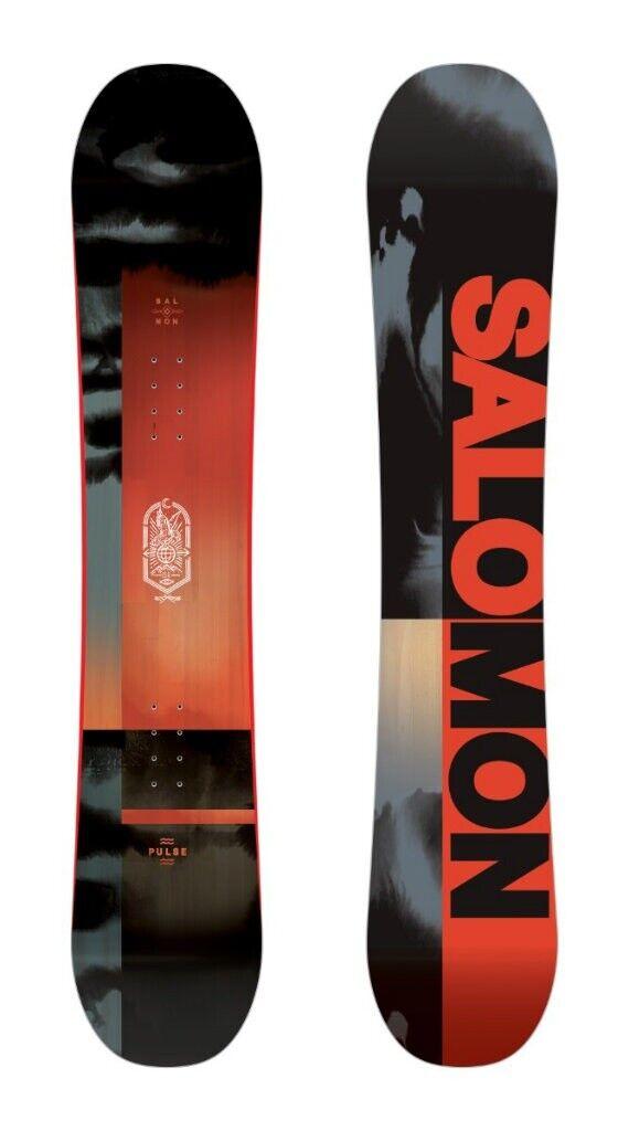 Snowboard All Mountain Freestyle Salomon Pulse 156 2020