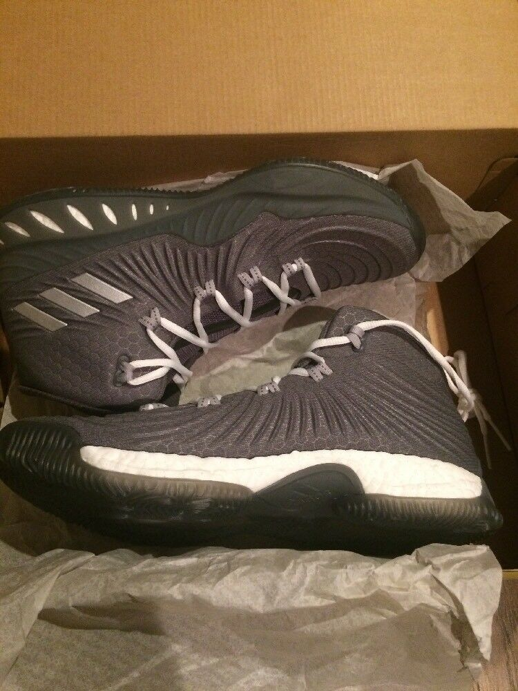 Adidas Crazy Explosive 2017 BOOST Size 8 - Grey Men Basketball shoes BY3767