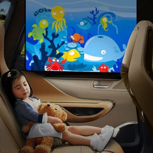 1PC Magnetic Car Side Window Sunshade Curtains Windows Sun Visor Blinds CovYT