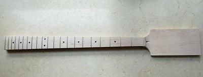 """Eden 30/"""" Short Scale Paddle Maple//Maple Bass Neck Dot Inlay"""