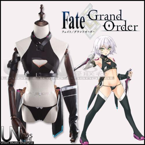 Fate//Grand Order FGO Black Assassin Jack the Ripper Cosplay Costume Customize
