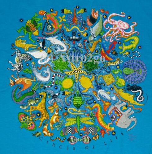 CIRCLE OF LIFE--Science Nature Animals Zoology Biology Life T shirt NEW Size XXL