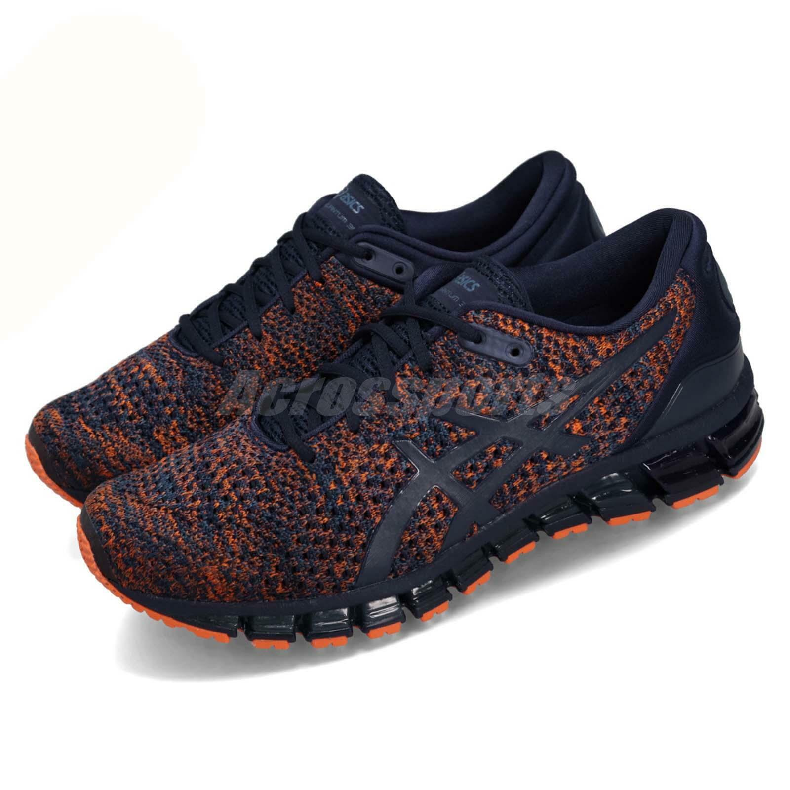 Asics Gel-Quantum 360 Knit 2 Peacoat orange Men Running shoes Sneakers T840N-403