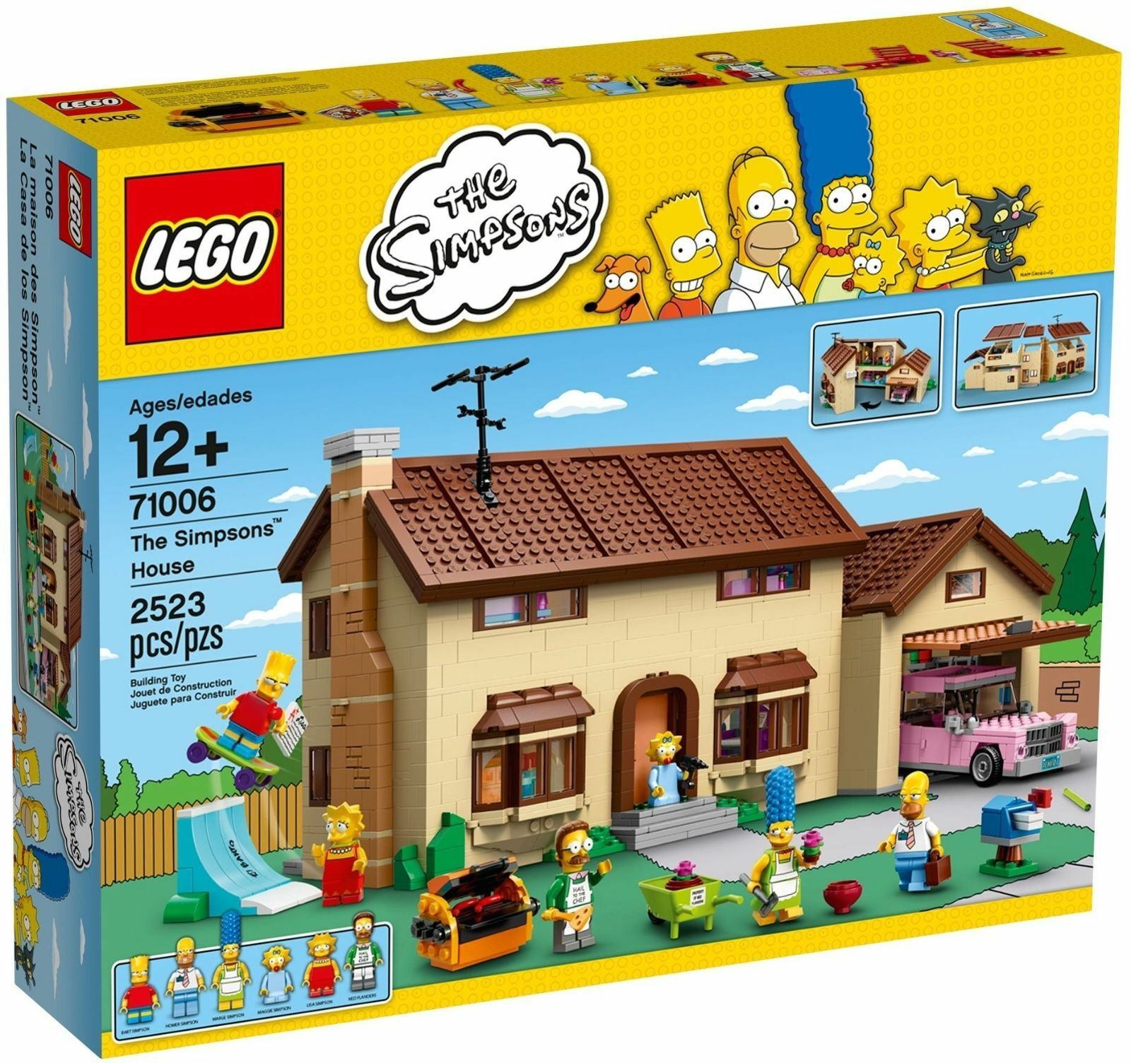 LEGO® 71006 Das Simpsons™ Haus NEU OVP _The Simpsons™ House NEW