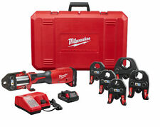 New Listingmilwaukee 2922 22 M18 Force Logic Press Tool With One Key With 12 2 Cts Jaws