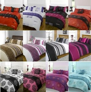 5pc Bed In A Bag Bedding Duvet Quilt Cover Set In Single Double