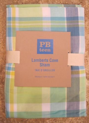 POTTERY BARN  ~ LAMBERTS COVE ~ STANDARD SHAM ~ BEDDING ~ PB TEEN