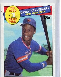 Details About 1985 Topps Baseball Card Darryl Strawberry New York Mets Near Mint 278