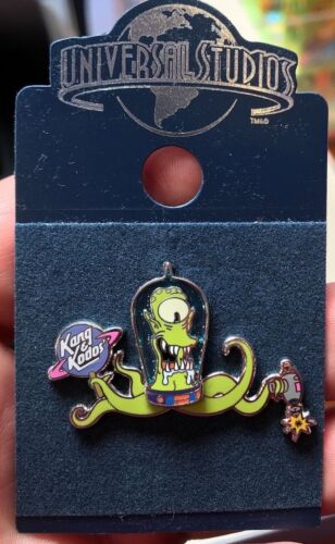 Universal Studios The Simpsons Alien Kang Trading Pin New on Card