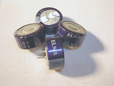 Elna Lot Of 4 Dh 55v 1f Cap Super Capacitor Radial For Battery Snap In
