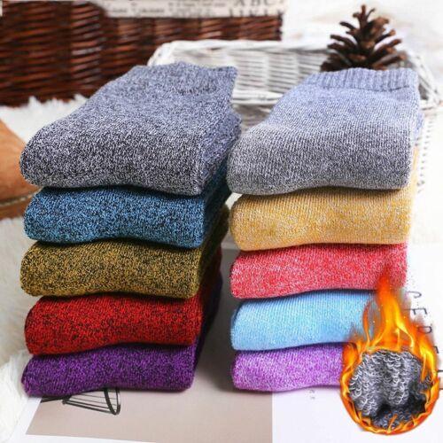 1 Pairs Women/'s Winter Thermal Warm Heavy Duty Heated Boots Socks Size 5.5-9